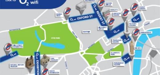 O2 пуска безплатен интернет за Олимпиадата в Лондон