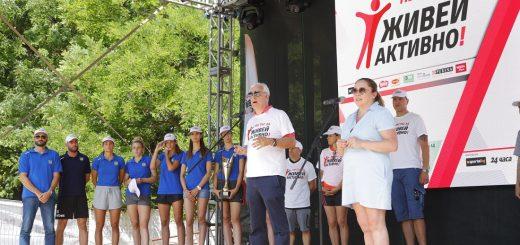Четиринадесетото издание на инициативата Нестле за Живей Активно! събра хиляди хора по улиците на 13 български града.