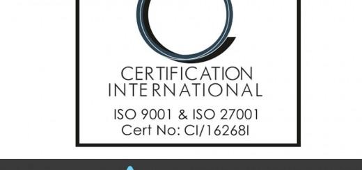 Ново признание за Delta.BG - сертифициране по ISO 9001:2008 и ISO 27001:2013