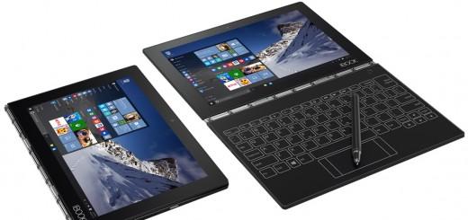 Хибридният таблет от ново поколение Lenovo Yoga Book вече и с Windows 10 Pro