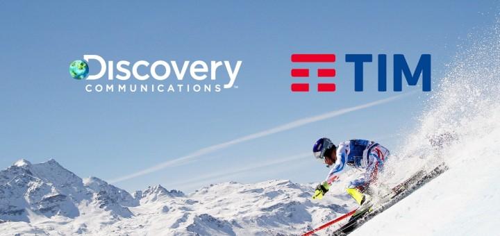 Discovery Communication и TIM представиха първия мобилен оператор, който ще излъчва Олимпийските игри