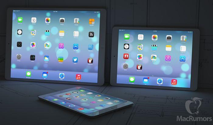 Apple готви два 12.9-инчови iPad за следващата година