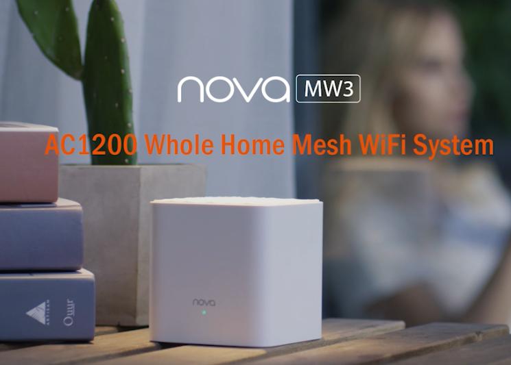 Tenda анонсира mesh системата Nova MW3 на българския пазар