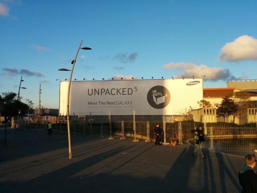 Реклама на Samsung Unpacked 5