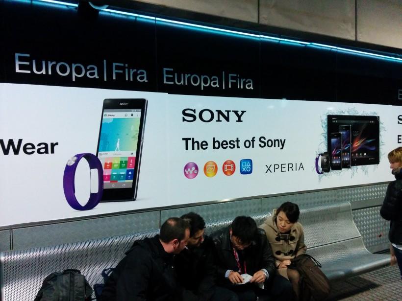 Sony Smartwear и Xperia