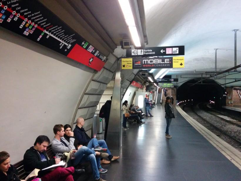 Указатели към MWC в метрото