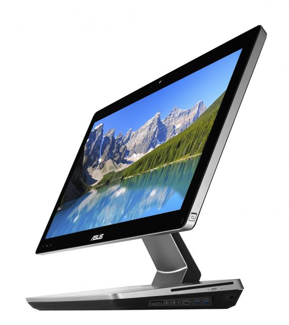 ASUS представи нов моноблок настолен компютър ET2301 с 23-инчов подвижен мултитъч дисплей