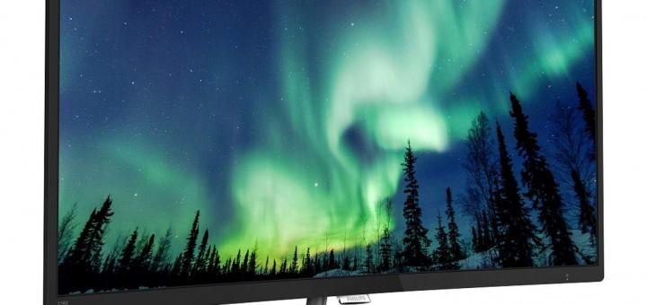 Нов извит LCD дисплей от Philips