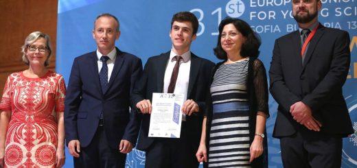 България спечели две награди на Европейския конкурс за млади изследователи