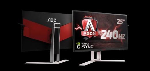 AOC представя предложения за подаръци: стилни Full HD и извити QHD монитори