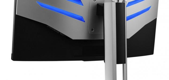 """Двата """"безрамкови"""" геймърски монитора AOC AGON със 1800 мм извивка вече са налични в България"""