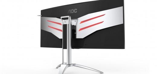 """Два нови геймърски монитора AOC AGON с """"безрамков"""" дизайн и 1800 mm извивка"""