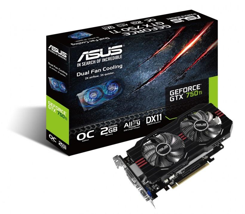 ASUS GTX750TI-OC-2GD5 with box