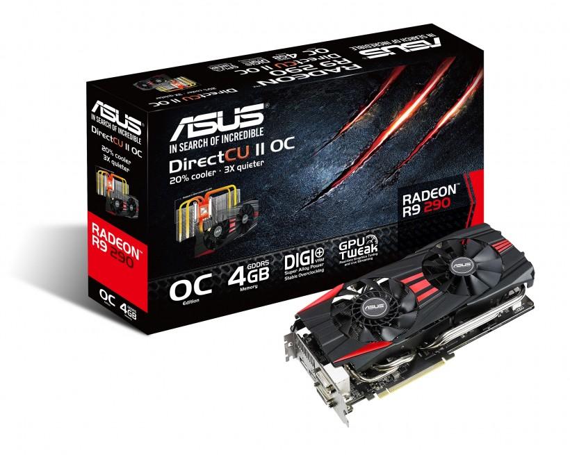 ASUS обяви видеокартите R9 290X и R9 290 DirectCU II