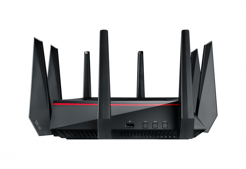 ASUS RT-AC5300 Tri-Band Gigabit Router_side