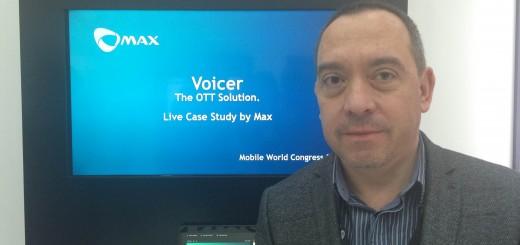 Макс представи гласовата услуга Voicer на световния мобилен конгрес в Барселона