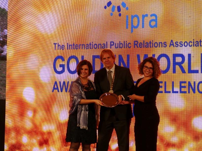 United Partners взе единствената награда за България от IPRA Golden World Awards в Доха, Катар