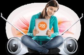 blizoo предлага интернет със скорост до 200 Mbps