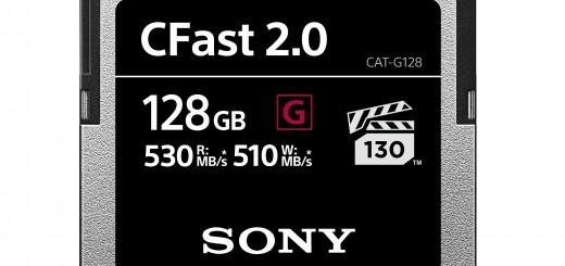 Sony допълва своята линия професионални карти с памет с новата серия CFast