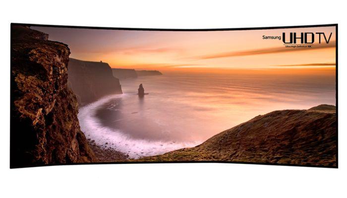 Samsung ще представи 105-инчов UHD TV с извит дисплей на CES 2014