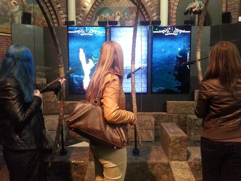 НВО води за пръв път в България уникалната интерактивна гейминг инсталация от битка при Черна вода в Game of Thrones