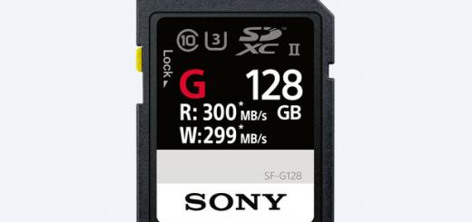 Sony пуска на пазара най-бързите в света SD карти памет – серията SF-