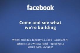 Мистериозна Пресконференция от Facebook на 15 Януари, Нов телефон от Facebook?