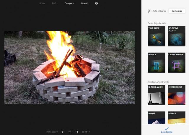 Google+ с нов мощен редактор на снимки от Snapseed