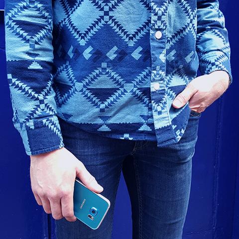 Galaxy S6 edge - Blue Topaz 7