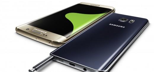 Samsung Galaxy S6 edge+ и Galaxy Note5