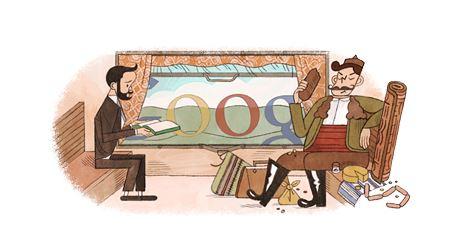 "Google почете ""Щастливеца"" Алеко и Бай Ганьо с doodle"