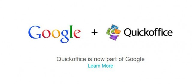 Google придоби Quickoffice