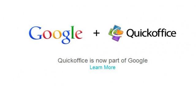 Google придоби Quickoffice