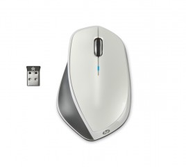 HP_x4500_Wireless_Metallic_White_Mouse_Top
