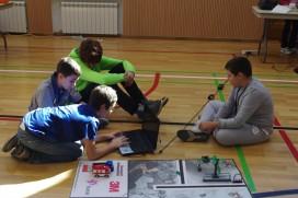 Състезанието First Lego League в България