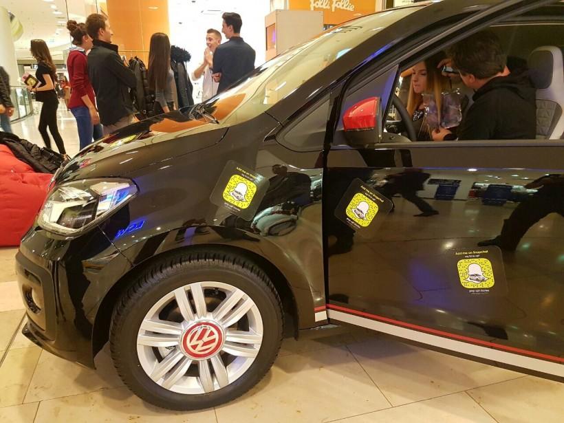 """Volkswagen up! стартира поредица """"внезапни"""" събития"""