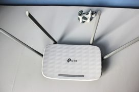 AC1200 безжичен двулентов Gigabit рутер Archer C5 V4 от TP-Link