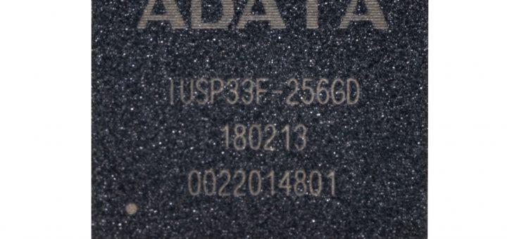 ADATA анонсира IUSP33F PCIe BGA SSD