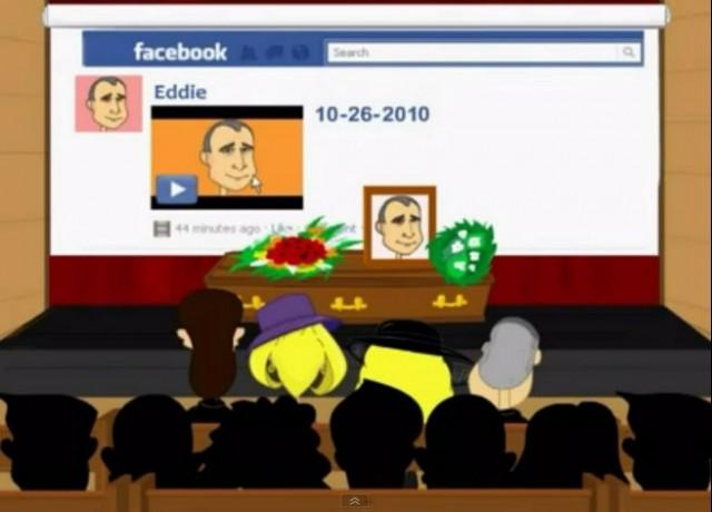 Ако умреш, какво ще оставиш след себе си…  във Facebook?