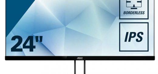 AOC обяви нова линия елегантни супер тънки монитори: V2