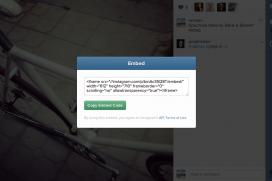 Ново от Instagram - вграждане на картинки и видео в сайтовете ни