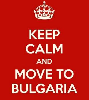 """Що така бе Енгланд? """"Кеер calm and move to Bulgaria"""" #AvoidBritain"""