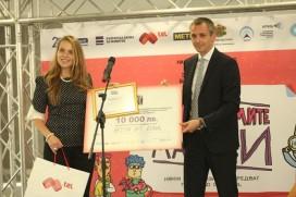 """Главният технически директор на Мтел Деян Кастелиц награди предприемачи по време на """"Големите малки"""" 2016"""