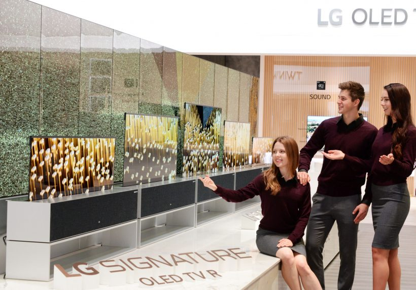 CES 2019: LG представи навиващ се OLED телевизор