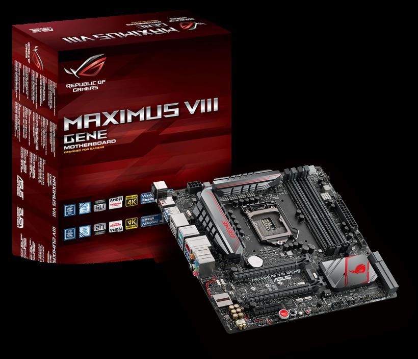 ASUS представи геймърската дънна платка ROG Maximus VIII Z170 Series