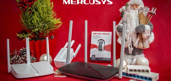 Джаджи с марката Mercusys на супер атрактивни цени- идеален избор за коледни и новогодишни подаръци