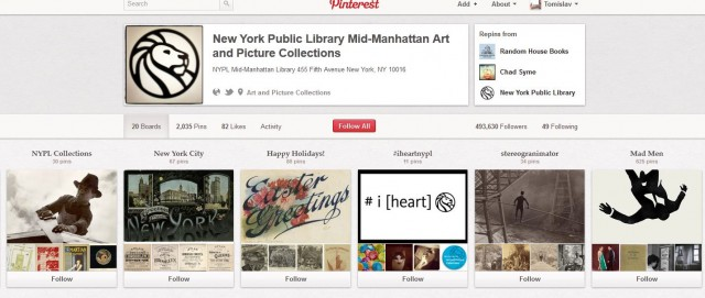 New York Public Library Art and Picture Collections: поп-културата, изкуството и Ню Йорк
