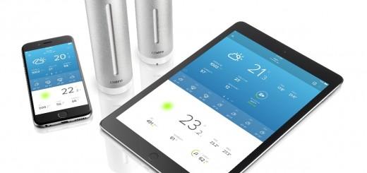 Netatmo e единствената в света безжична Метеорологична станция за смартфон