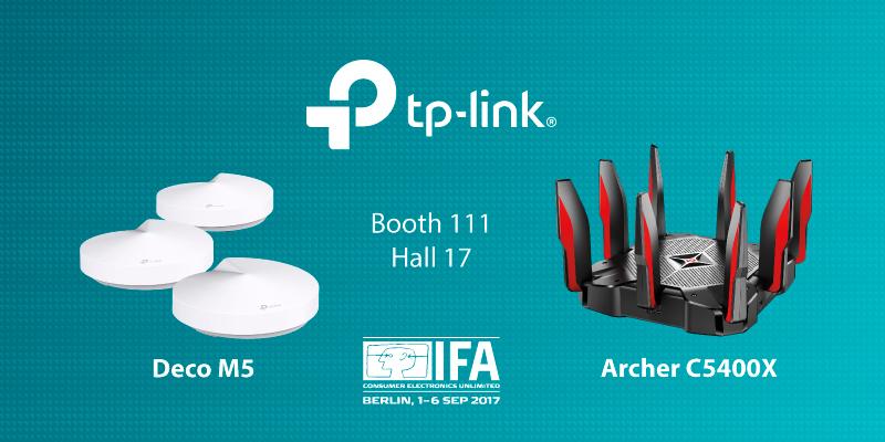 IFA 2017: Първата в света Wi-Fi Whole-Home система за пълна сигурност и защита на дома от TP-Link