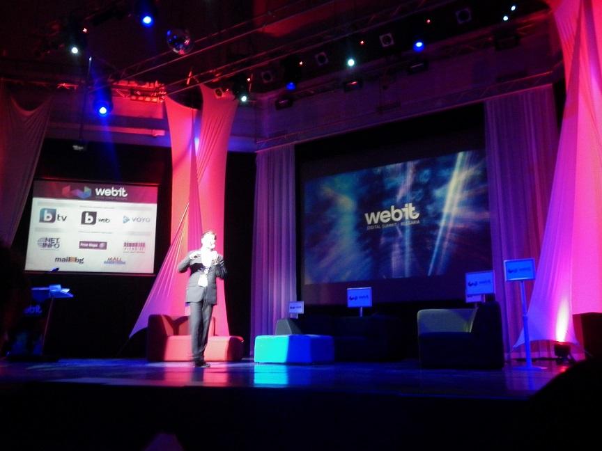 Първи ден от форума Webit Digital Summit Bulgaria 2013